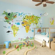 The Whole Wide World Wall Mural, , large