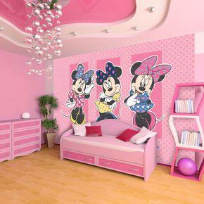 Fresque murale Minnie Mouse, , large