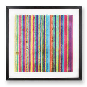 Neon Stripe Wall Art, , large