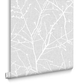 Innocence Grey Wallpaper, , large