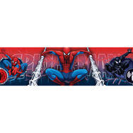 Spiderman mittelgroße Bordüre Rolle, , large