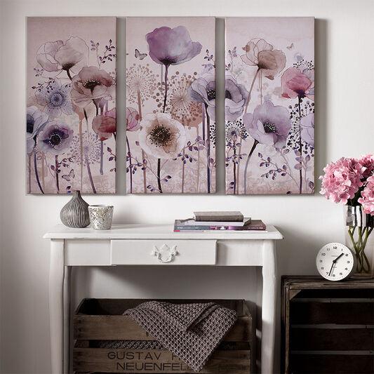 Classic Poppy Trio Printed Canvas, , large