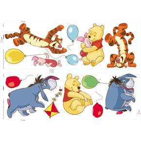Sticker mural Jour libre avec Winnie l'Ourson , , large