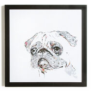 Pug Framed Print, , large