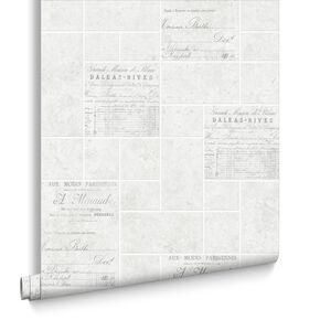 Parisienne Grey Wallpaper, , large