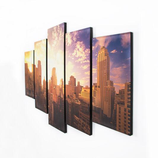 Good Morning New York Printed Canvas, , large