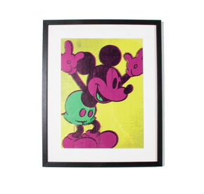 Neon Micky Maus, , large
