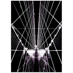 Structure Toiles imprimées de pont de Brooklyn, , large