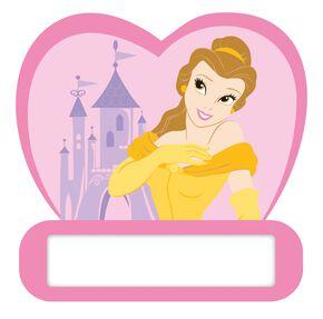 Plaque de porte mousse Princesses, , large