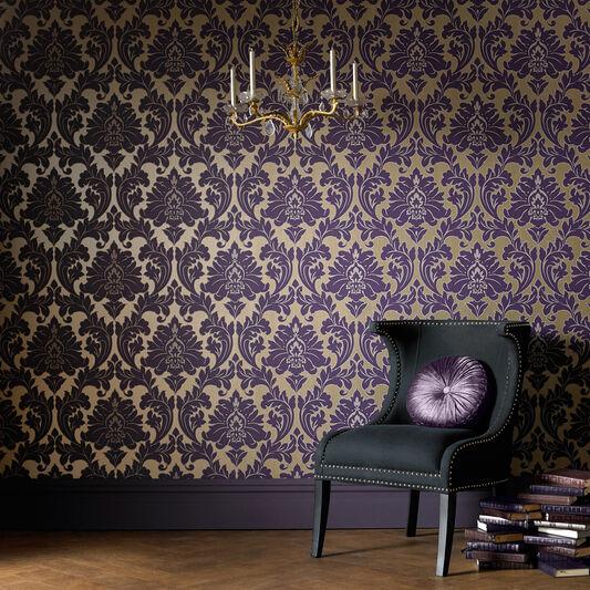 Majestic Purple Wallpaper, , large