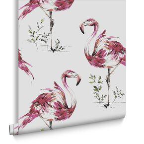 Flamingo Wallpaper, , large