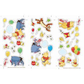 Winnie Puuh kleine Wand-Sticker, , large