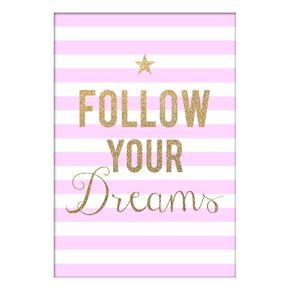 Follow Your Dreams Canvas, , large
