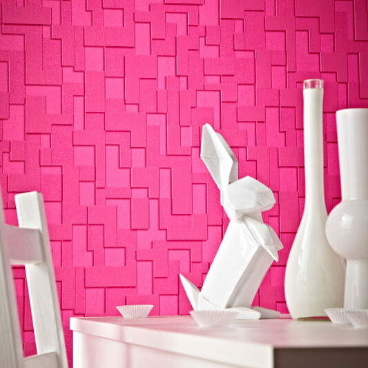 Checker Hot Pink, , large