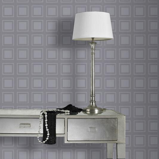 Cube Grey Wallpaper, , large