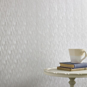 Silken Stria Silver Mist Wallpaper, , large