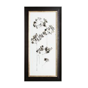 Botanical Seed Head Metallic Framed Art, , large