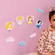 Mini décor en mousse Princesses – 24pièces, , large
