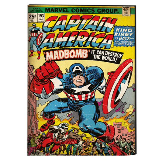 Captain America Printed Canvas, , large