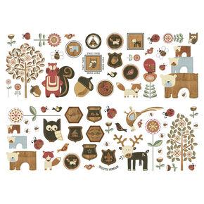 Graham & Brown Wildnis Wand-Sticker, , large