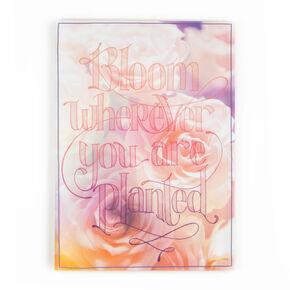 Fleur partout où vous êtes Toiles imprimées planté, , large