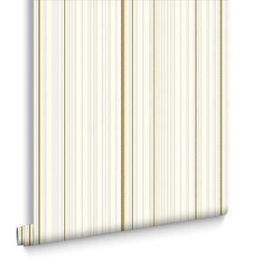 Maestro Rayures Blanc et Or, , large
