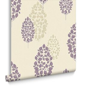 Lucy Plum Wallpaper, , large