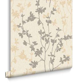 Nature Cream Wallpaper, , large