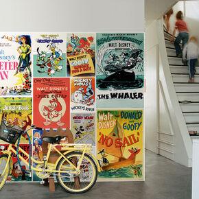 Digitales Wandbild - Disney Vintage Jungen, , large