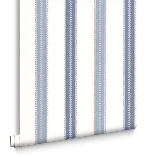 Harvest Blue Wallpaper, , large