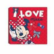 Minnie Mouse Bedruckte Leinwände, , large