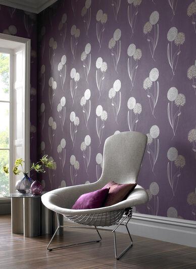 Alium Purple Wallpaper, , large