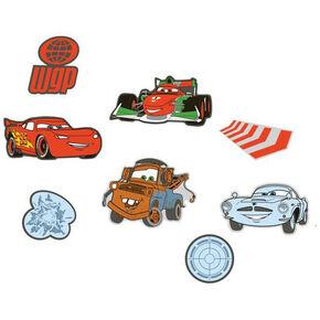 Mini décor en mousse Cars 2 – 24pièces, , large