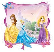 Sticker de tête de lit Princesses, , large
