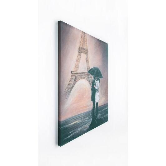 Kissing In Paris Printed Canvas, , large