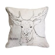 Free Spirit Stag Cushion, , large