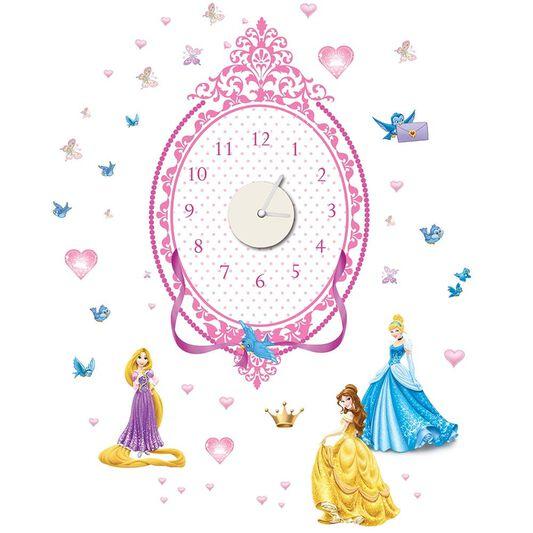 Princess Sticker Clock, , large