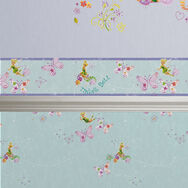 Tinkerbell Butterfly Border, , large