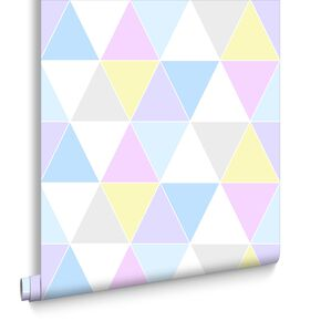 Harlequin Pastels Wallpaper, , large