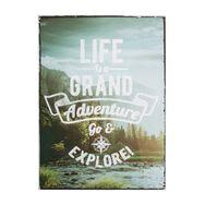 Toile imprimée Life's An Adventure, , large