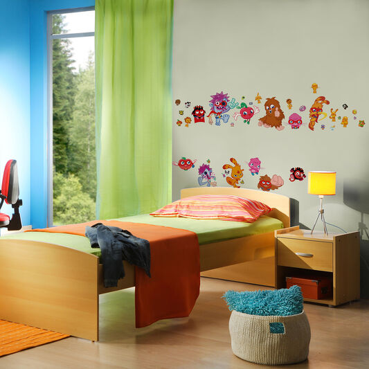 Moshi Monsters Wall Stickers, , large