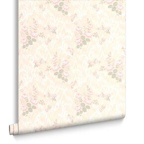 Jocelyn Pink Wallpaper, , large