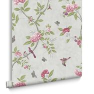 Chinoiserie Parchment Wallpaper, , large