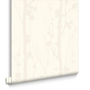 Solitude White Wallpaper, , large