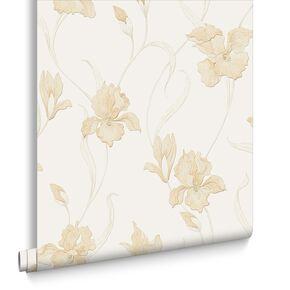 Iris Natural Wallpaper, , large
