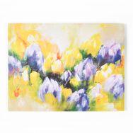 Tulipes-Toile imprimée, , large