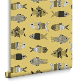 Fishes Mustard, , large
