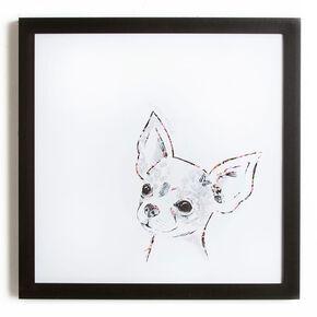 Chihuahua Framed Print, , large