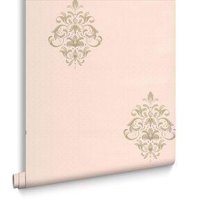 Clemency Soft Green Wallpaper, , large