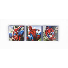 Spiderman Packung mit 3 Kartonkunst, , large
